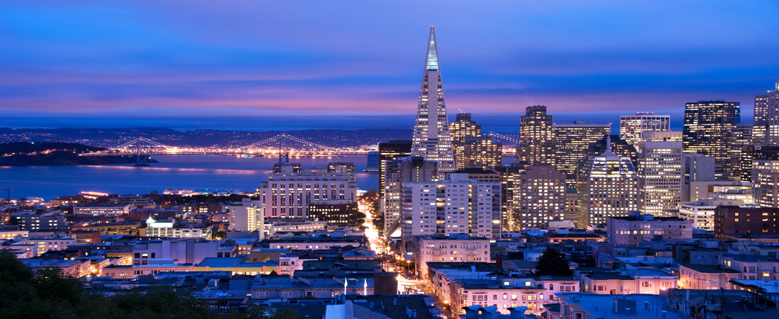 Skyline-San-Francisco-at-Dusk